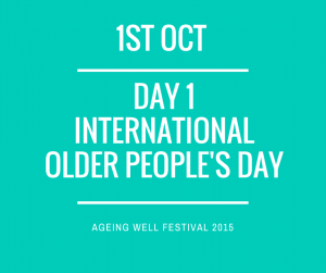Ageing Well Festival International older people's day