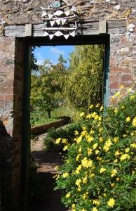 The walled art garden