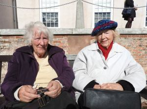 Two older ladies ageing well festival ageing well torbay