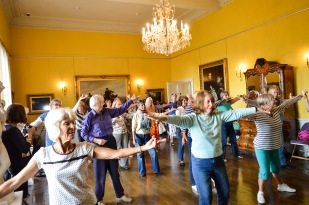 Dancing at Torre Abbey Ageing Well Festival Ageing Well Torbay