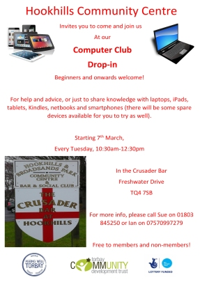 hookhills computer club ageing well torbay