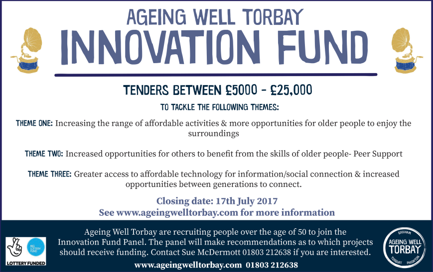 Innovation Fund Ageing Well Torbay