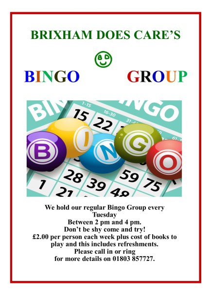 BINGO GROUP 2018