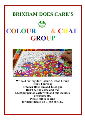 COLOUR & CHAT GROUP 2018