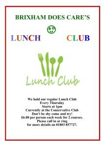 Lunch Club 2018