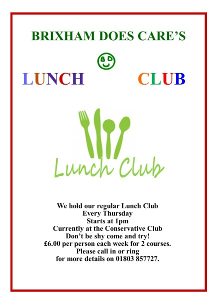 Lunch Club 2018