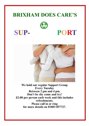 SUPPORT GROUP 2018