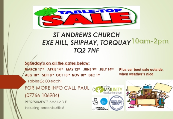 Table Top Sale Shiphay