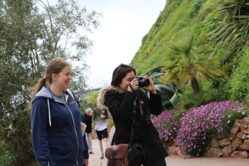 Behind the scenes with Jess, left (Participation Development Officer) and Karla, right (Marketing and Comms Officer)