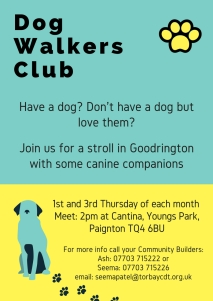 Dog Walkers Club July 2018