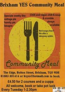 Brixham YES Community meal