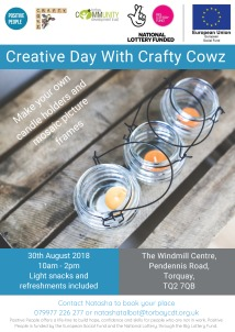 Creative day with crafty cowz