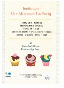 TCDT - poster afternoon tea party