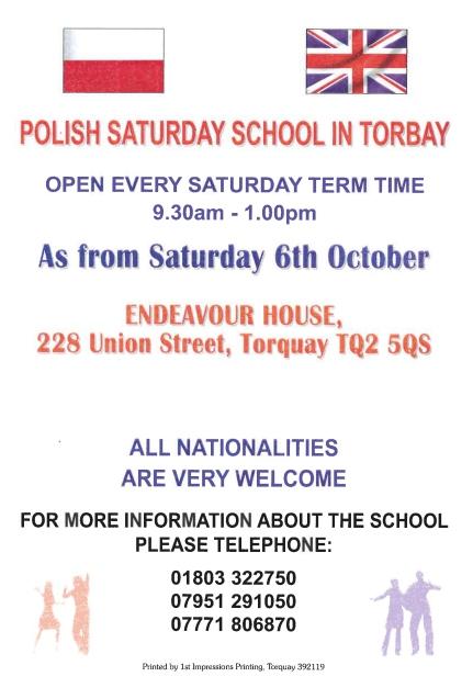 Polish Saturday School ENG