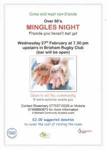 TCDT - Mingles Night poster 2019 Feb 27
