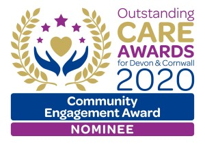 Community Engagement Award nominee 2020 graphic