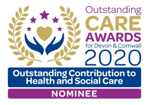 Outstanding Contribution to Health and Social Care nominee 2020 graphic
